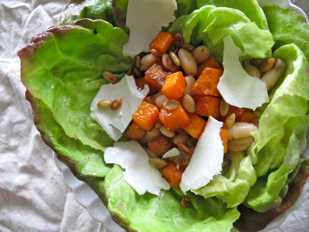 ... Bean Salad with Ricotta Salata and Honey Balsamic Vinaigrette