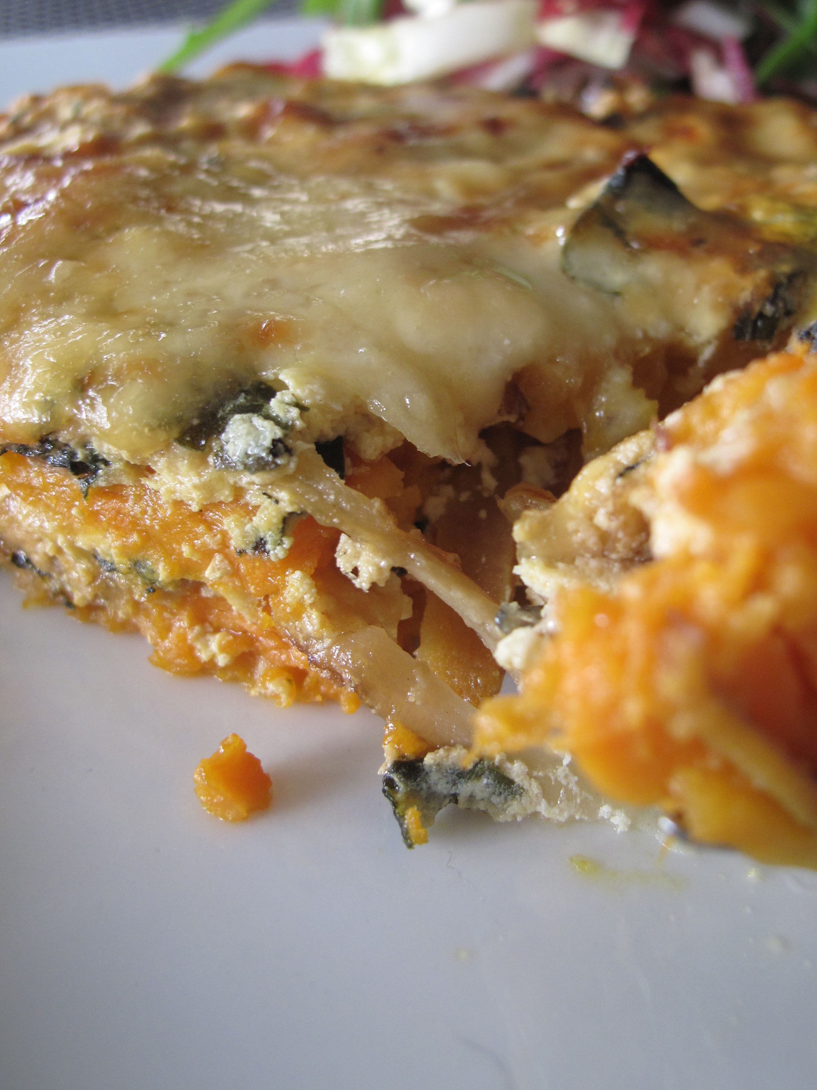 Sweet Potato and Gruyère Gratin with Caramelized Onions and Swiss ...
